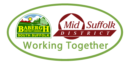 Babergh Mid Suffolk District Council logo